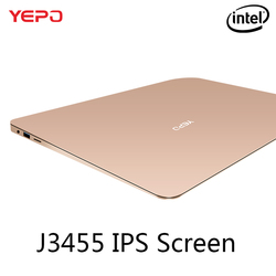 YEPO 737A Laptop 13.3 inch Ultrabook Gaming Laptops IPS Intel Celeron J3455 Notebook Computer With 6GB RAM 64GB 128GB 256GB SSD