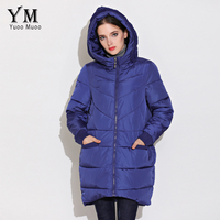 YuooMuoo New High Quality Fashion A Line Women Coat Winter Warm Wadded Jacket Elegnat Windproof Parka