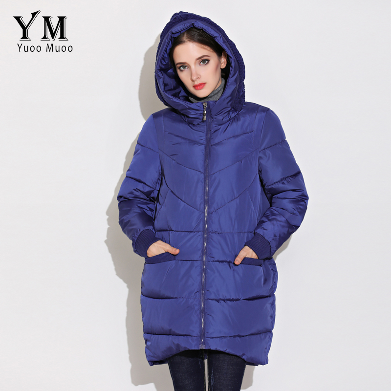 YuooMuoo New High Quality Fashion A-line Women Coat Winter Warm Wadded Jacket Elegnat Windproof Parka Female Jacket Hot Sale