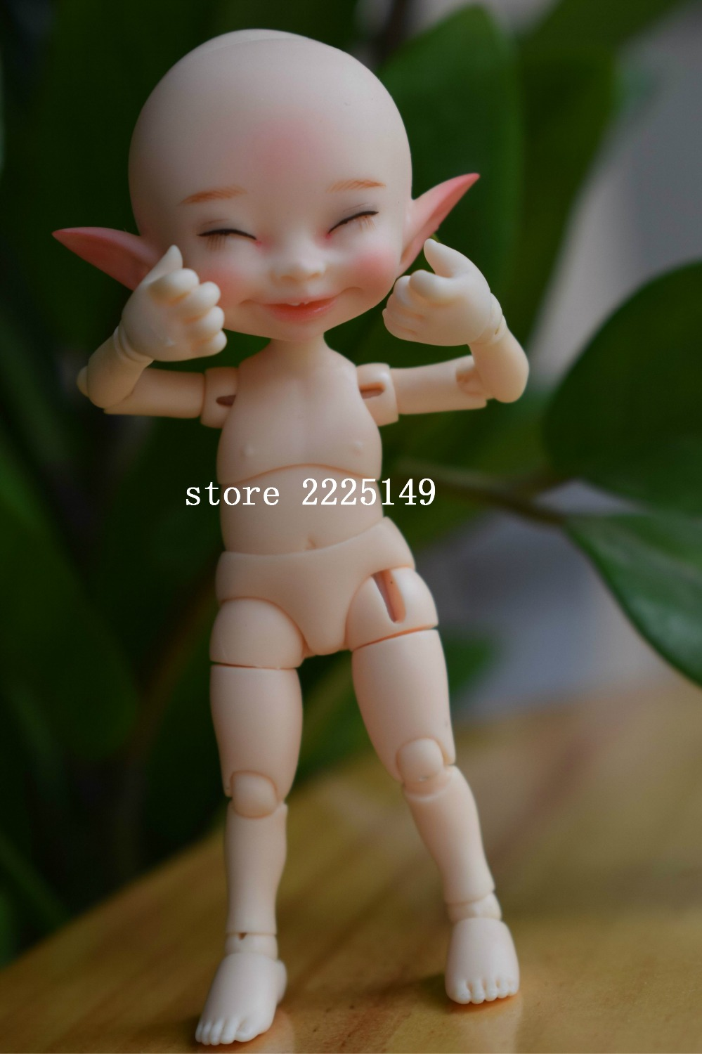 Free shipping Free shipping lingxiyiwa 1 12 soso bjd doll two face with eyes