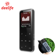 hot deal buy deelife mp3 player bluetooth sport music players portable with speaker touch button support fm e-book steps for sports running