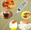 1 pc Instant Digital Cozinhando Sonda de Carne PARA CHURRASCO Cozinha Selecionável termômetro alimento leite Termômetro de água