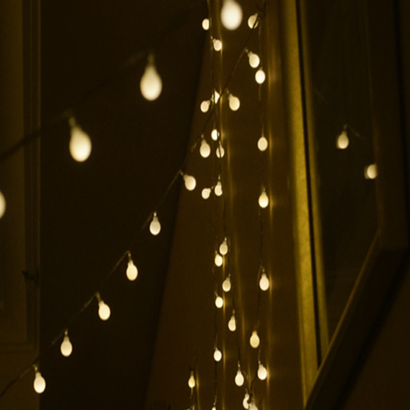 1PC Fairy 20m 200 LED luminaria dekoration Garland bollsträng lampor - Festlig belysning - Foto 2