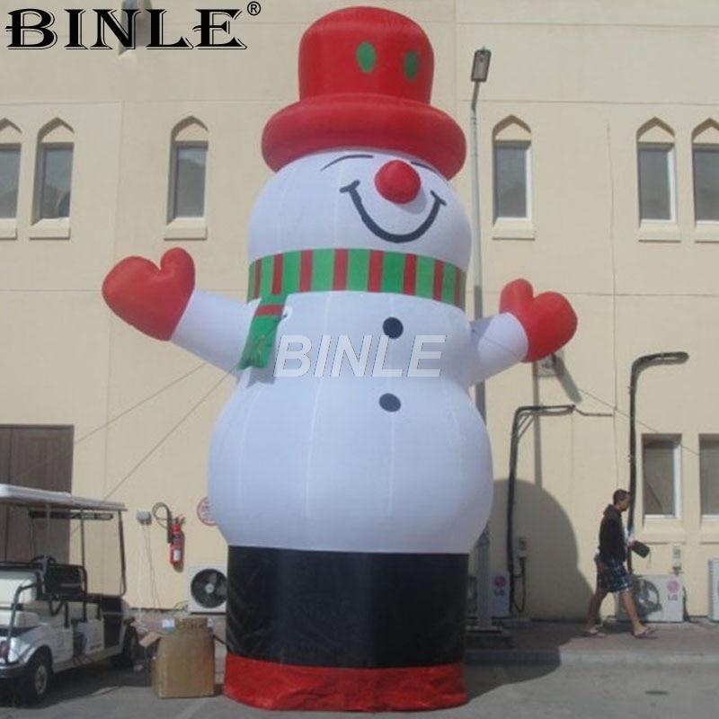 Sneeuwpop met rode hoed 3d effect foto bed linnen kan worden aangepast photo patroon - 2