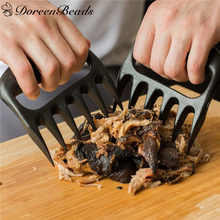 New Bear Claws Forked Tongs BBQ Accessory