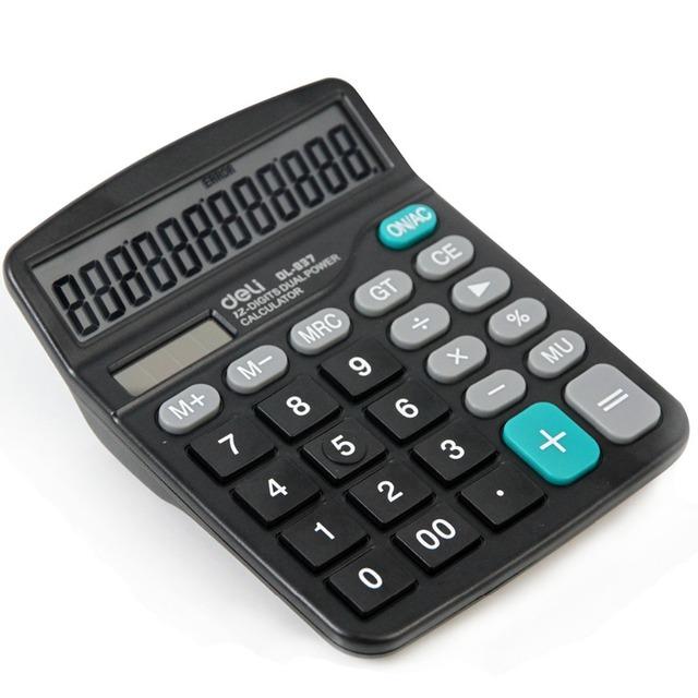 Venta caliente 2016 de Doble potencia (energía solar + batería AA) calculadora científica para trabajos de Oficina freeshipping