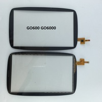 GPS Touch Screen Digitizer Glass Sensor Replacement Parts 6 Inch For TomTom GO 6000 600