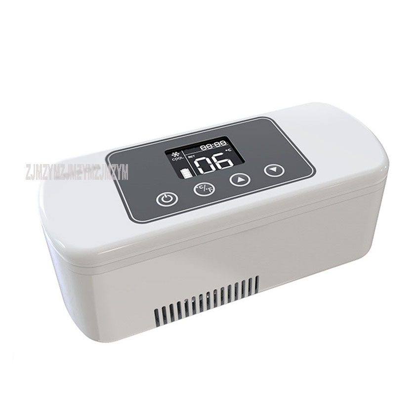 BCZ-300B NEW Mini Insulin Cooler Box Small Refrigerator Portable Growth Hormone Heat-Senstivive Medicine Cooling Box 8/20 Hours
