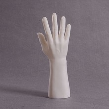 CAMMITEVER High Quality Realistic Plastic Female Mannequin Hand For Watch/Gloves Display - White