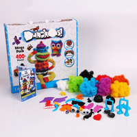 Free Shipping 400 Pcs Mega Pack Accessories DIY Assembling Toys Best Block Toys For Children Gifts