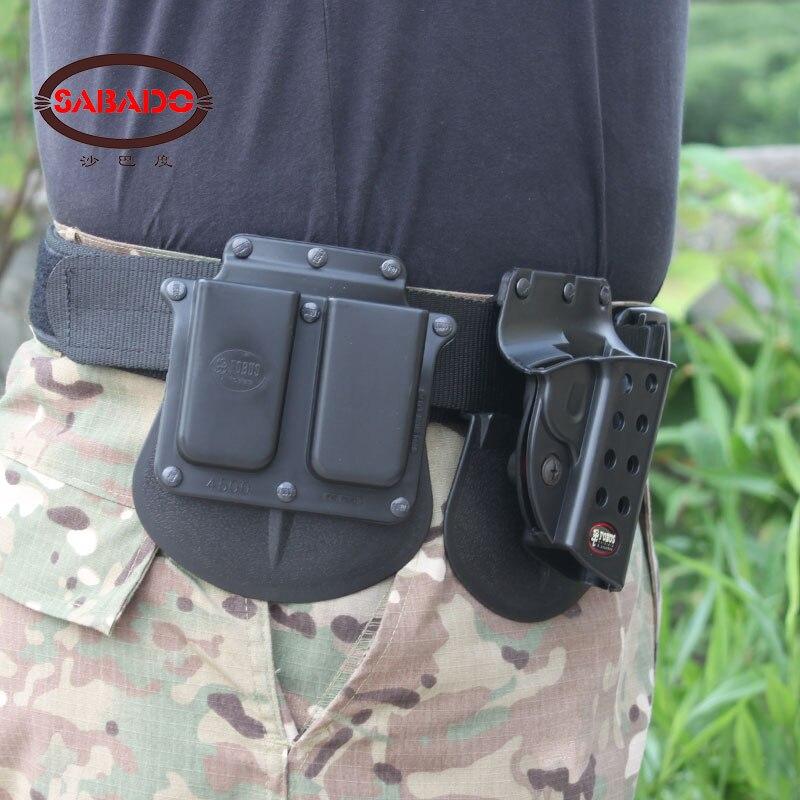 SABADO 4500 BLACK τακτικές θήκες πυροβόλων - Κυνήγι - Φωτογραφία 3