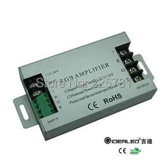 DIY home 360W DC12-24V rgb <font><b>LED</b></font> Amplifier <font><b>12V</b></font> 30A for RGB <font><b>LED</b></font> <font><b>strip</b></font> lights input 360W