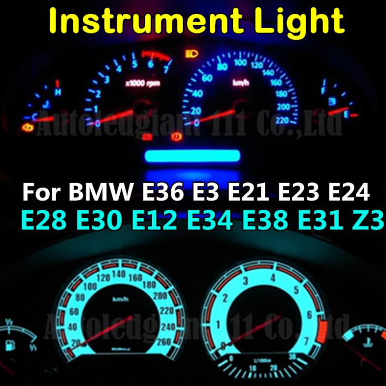T5 Led 7 Colors 12v Light Dashboard Instrument And Gauge. T5 Led 7 Colors 12v Light Dashboard Instrument And Gauge Bulb For BMW E36. BMW. BMW E24 Instrument Wiring Connector At Scoala.co