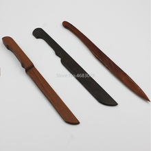Knife Paper-Cutting Black Without Red 1pcs Leaf Willow Xuan Wool-Edge Sandalwood