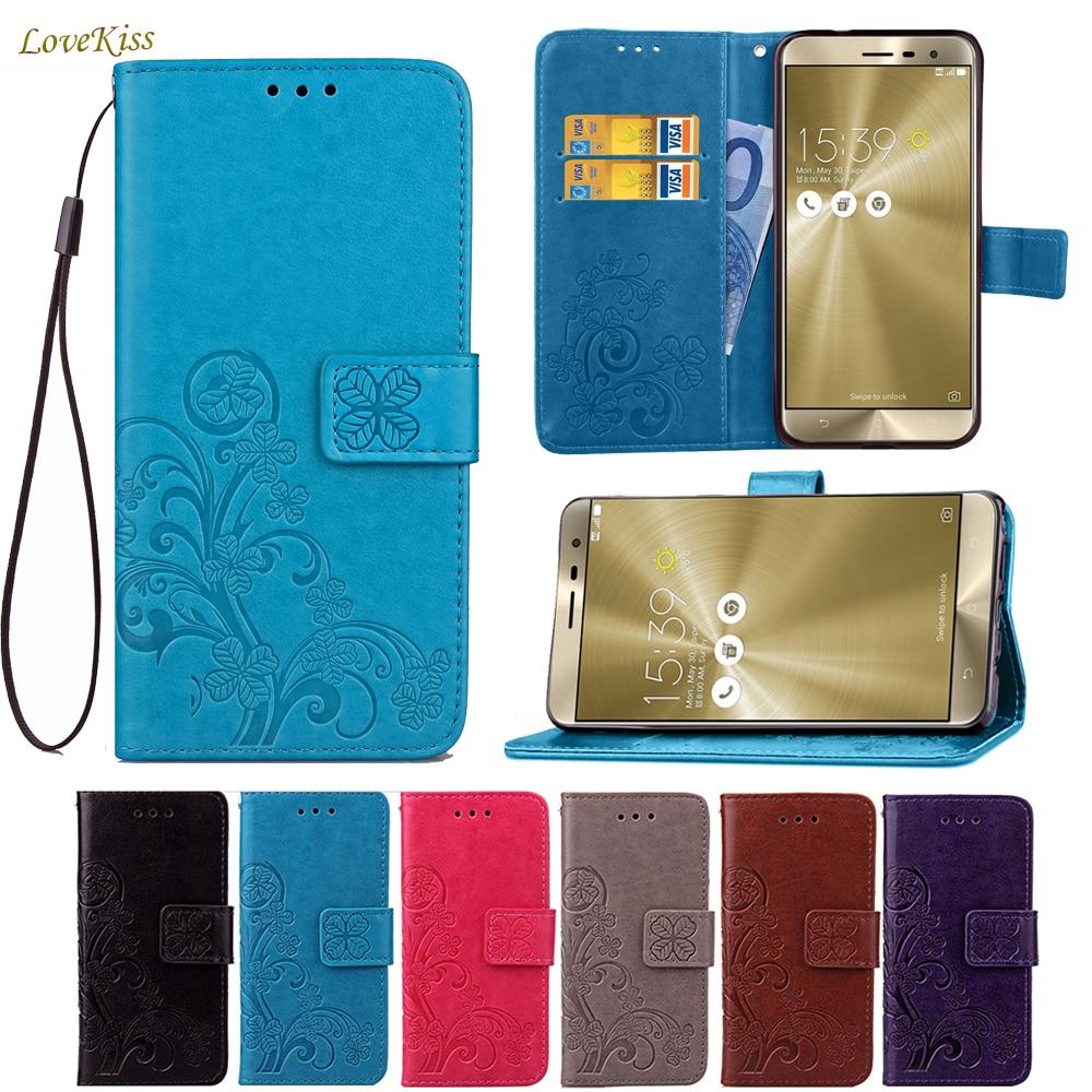 Leather Wallet Phone Case For Samsung Galaxy S3 S5 Mini S4 A3 A5 A7 Free Sg Retro Flip Asus Zenfone 3 Ze552kl 55 Inch Clovers 5 Max Zc550kl Zc520tl Zc553kl Ze520kl 2