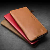 QIALINO 2016 New Wallet Cover For Huawei Ascend Mate 8 Handmade Genuine Leather Case For Huawei