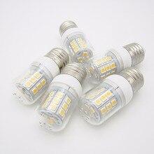 Энерг-85-265vac LED E27 лампа Светодиодная лампа 24LED smd5050 3.5 Вт лампы светодиодные свечи WW 3000 К PW 6000 К ; 5 предметов/партия
