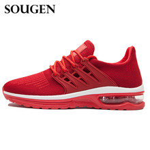 SOUGEN Platform Red Bottom Shoes Lightweight Breathable Stylish Man  Sneakers Running Shoes Summer Men s Sneakers Krasovki fabe44d17056