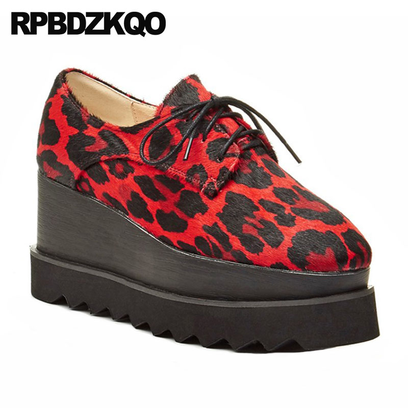 Noir 2018 Rouge Creepers Bout rouge Up Haute forme Épaisse jaune Lace Femmes Chinois Carré Taille Semelle Qualité Muffin 33 Ascenseur Chaussures Wedge Chine Plate BW0nZZF1q
