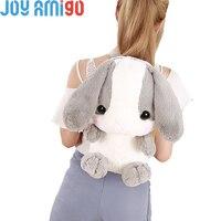 Plush Backpacks Of AMUSE Pote Usa Loppy Bunny Shape Soft Stuffed Animal Backpacks For Kids Children