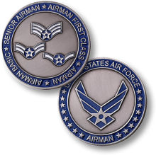Unbeatable prices U.S. Air Force - Airman - USAF Nickel Challenge Coin 50pcs/lot DHL free shipping стоимость