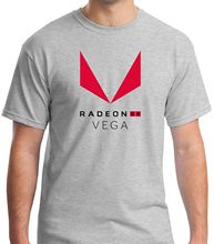 AMD Radeon Vega RX Processors Grey T-shirt Mens Tshirt S to 3XL Print Cotton High Quality top tee