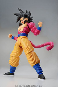 Image 2 - PrettyAngel   Genuine Bandai Figure rise Standard Assembly Dragon Ball GT Super Saiyan 4 Son Goku Plastic Model Action Figure