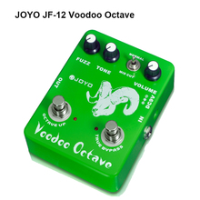 JOYO JF-12 Voodoo Octave Electric Guitar Effect Pedal Bass Dynamic Compression Fuzz Ultimate  Distortion Free Shipping