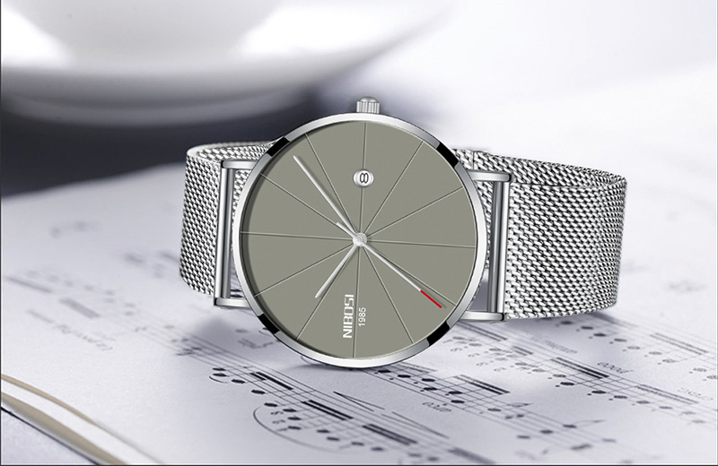 NIBOSI Mens Watch Top Ultra Thin Blue Minimalist Men Watches Stainless Steel Man Wrist Watches reloj hombre 2019 (10)