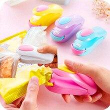 Best Selling 2018 Products, Portable Handheld Bag Clips, Mini Electric Heat Sealing Machine Food Bag Package Capper Sealing Tool plastic bag mini capper