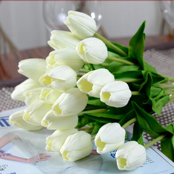 Popular White Tulip Bouquets-Buy Cheap White Tulip ...