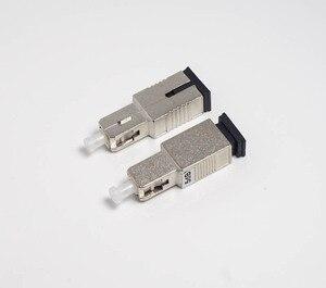 Image 2 - SC/UPC Male to Female Simplex mode fiber optic Attenuator metal male Fiber Attenuator FTTH attenuator Adapter