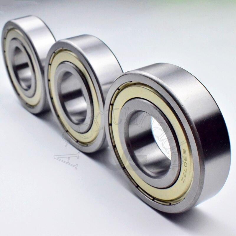 6307ZZ 35*80*21(mm) 1Piece free shipping bearings ABEC-5 metal sealing type chrome steel deep groove bearing 6307 ZZ 1 piece bu3328 6 6 33 27 5 29 5 mm z25 guide rail u groove plastic roller embedded dual bearing