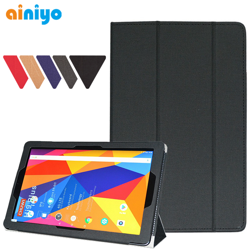"Newest Stand Protective Case Cover For CHUWI Hipad Hi pad 10.1"" Tablet PC + free Screen Film + stylus pen