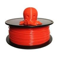 1.75mm 3.0 mm PLA filament/ABS filament for 3D printer 1kg(2.2lb)/spool red color
