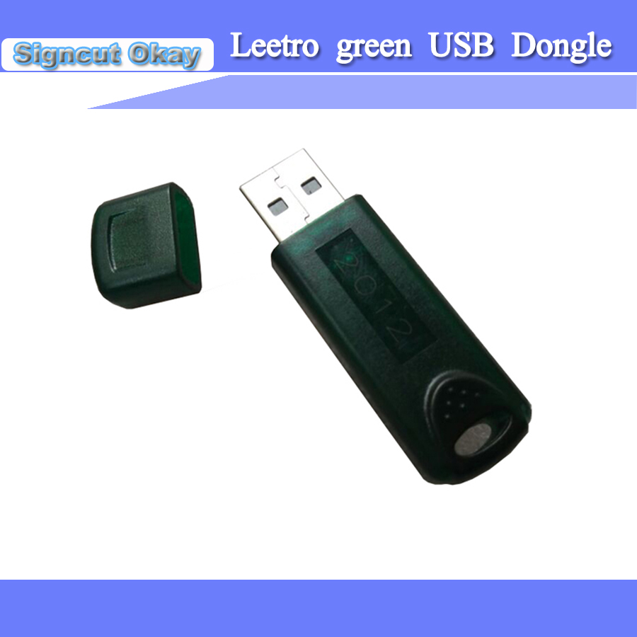 Leetro Green USB Dongle Key Used For Laser Engraving Machine
