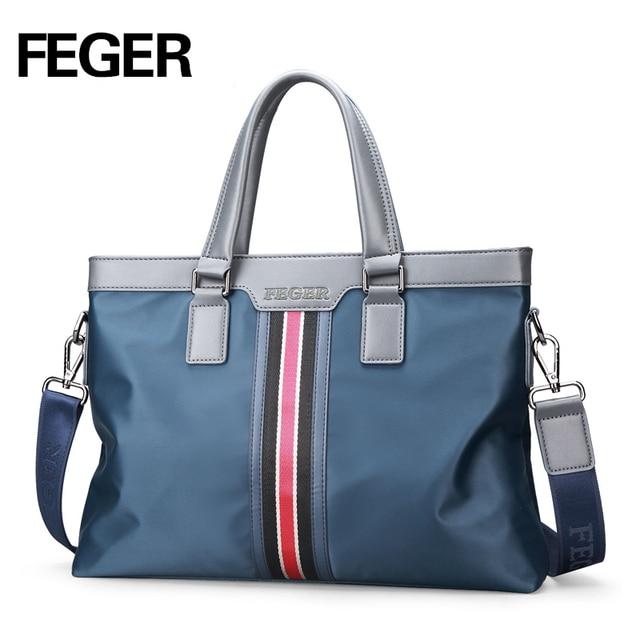 2018 New Pasta Executiva Cartera Hombre Nylon Men Bag Business Briefcase Handbag Shoulder Daily Use 13