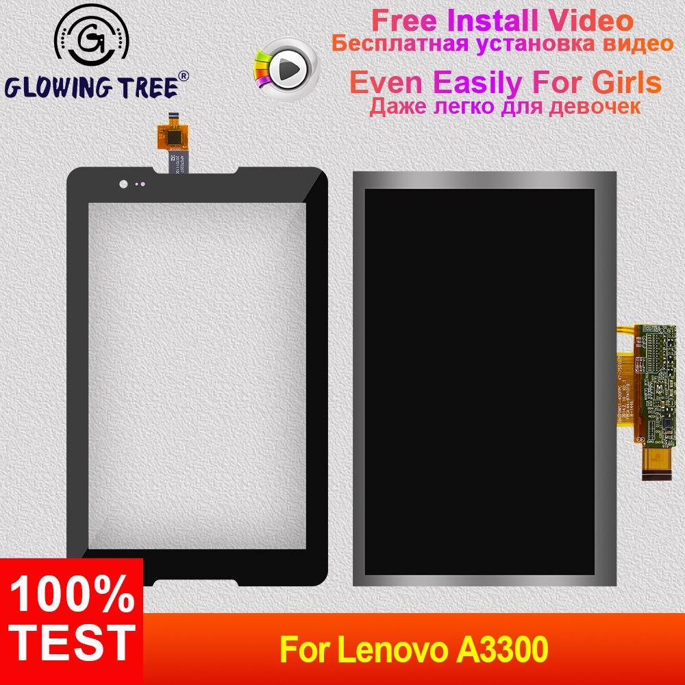 For Lenovo Tab A7-30 A3300 A3300T A3300-GV A3300-HV Touch Screen Digitizer Sensor Glass + LCD Display Screen Panel MonitorFor Lenovo Tab A7-30 A3300 A3300T A3300-GV A3300-HV Touch Screen Digitizer Sensor Glass + LCD Display Screen Panel Monitor