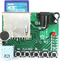 1PCS Digital Sound Recording Voice Module WTR010 SD For Recorder SD Card Slot