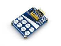 Capacitive Touch Keypad B Features TTP229 LSF Onboard With 8 Touch Keys And 1 Linear Touch