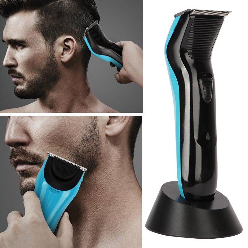 Kemei Professional Rechargeable 0mm Baldheaded Hair Beard Trimmers Haircut Styling Machine Family Electric Unique Clipper