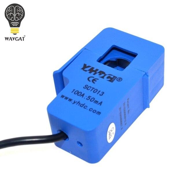 YHDC SCT013 100A SCT-013-000 capteur de courant alternatif Non invasif transformateur de courant à noyau divisé