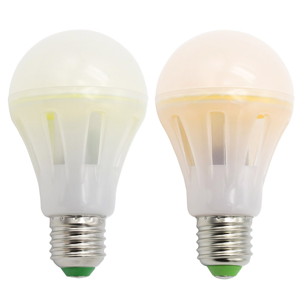 New Mcob Ceramic Chip Led E27 E26 Light Bulb Ac 110v 220v 6w 8w 10w Led Spotlight Than Filament