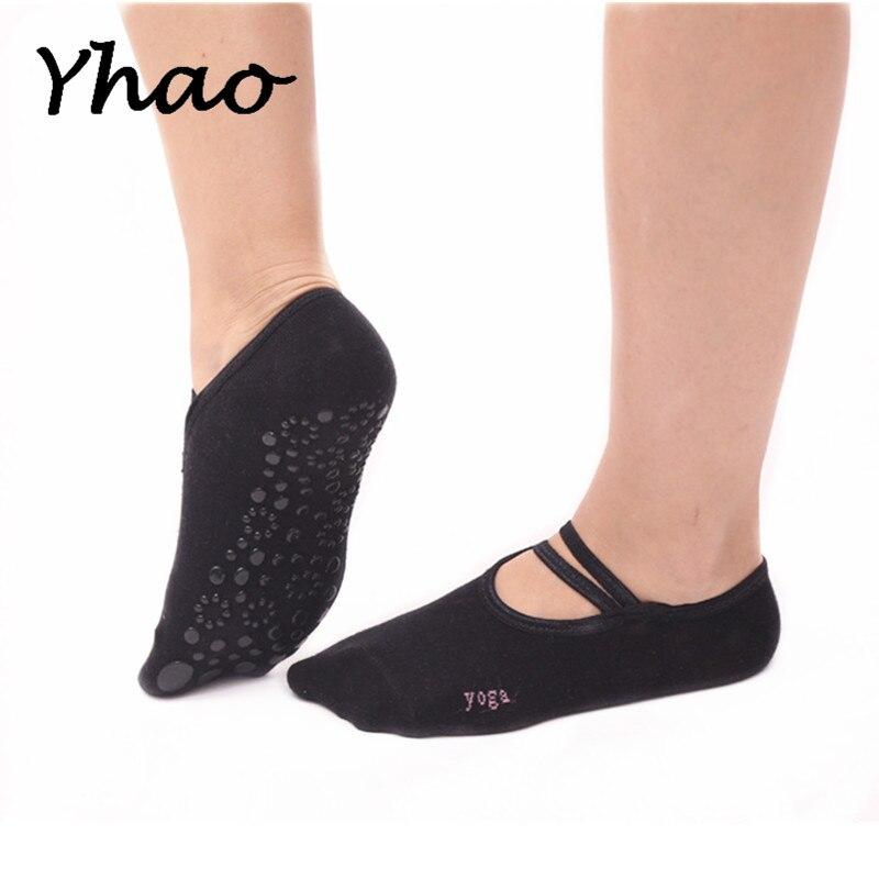 Calcetines de Yoga de alta calidad de la marca Yhao antideslizantes ...