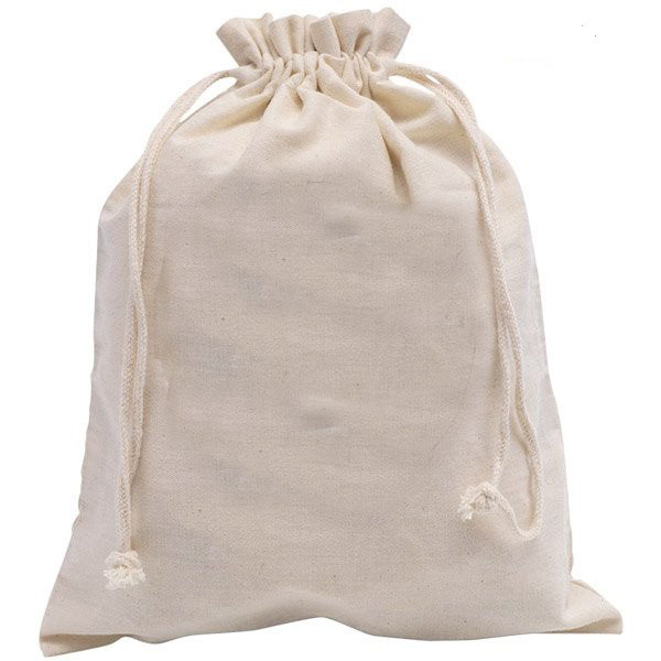 Free Shipping,100pcs/lot,30x40cm,Nature Big Cotton Drawstring Bag,Cotton Pouch Manufacturer,Custom Size Logo Print Accept