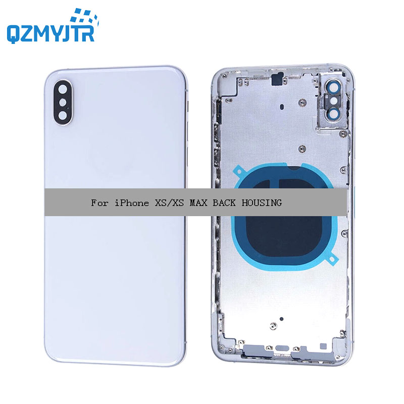 10/pcs Free dhl ems shipping For iPhone XS/xs max back housing Battery Cover glass Door Rear case Metal Middle Frame Chassis10/pcs Free dhl ems shipping For iPhone XS/xs max back housing Battery Cover glass Door Rear case Metal Middle Frame Chassis
