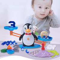 Math Balance Scale Toy Game Board Toys Monkey Match  Number Kids Educational Toy to Learn add and subtract Enlightenment Digital