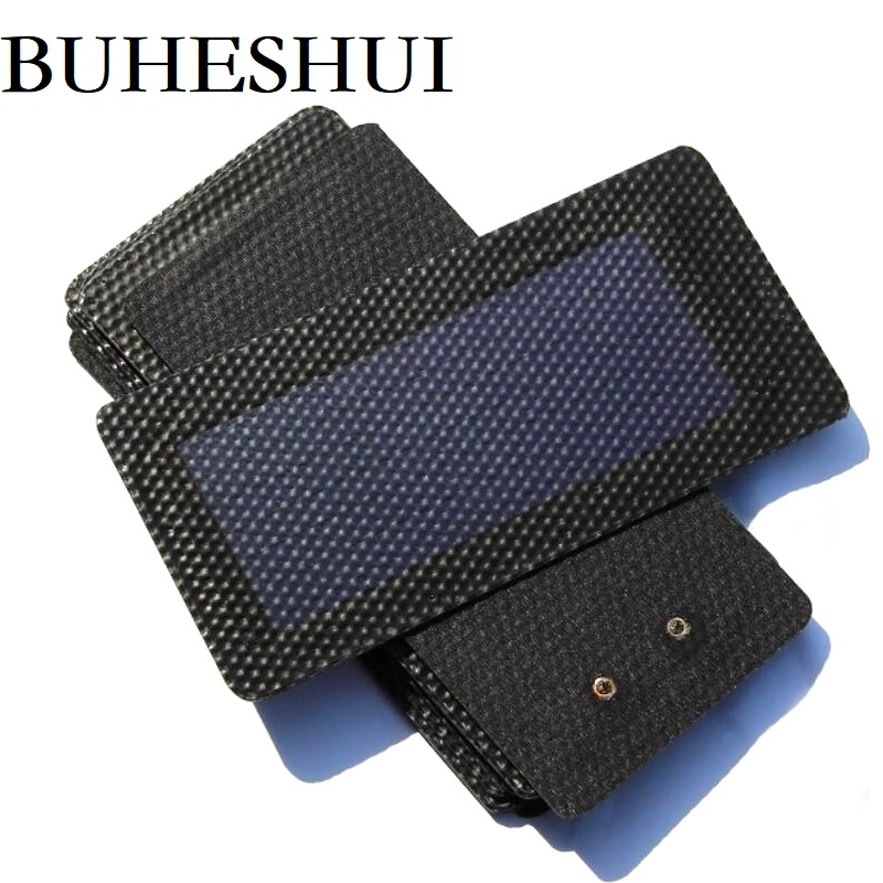 BUHESHUI 0.3W 1.5V Flexible Solar Cell of Amorphous Silicon Can Foldable Very Slim Solar Panel Education DIY Panel Free Shipping