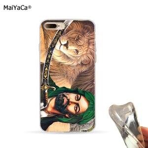 Image 3 - MaiYaCa Али шиа ислам имам святая Наджаф священник мягкие чехлы для телефонов apple iPhone 11 pro max 5s SE 6 6s 7 8 plus XR XS MAX