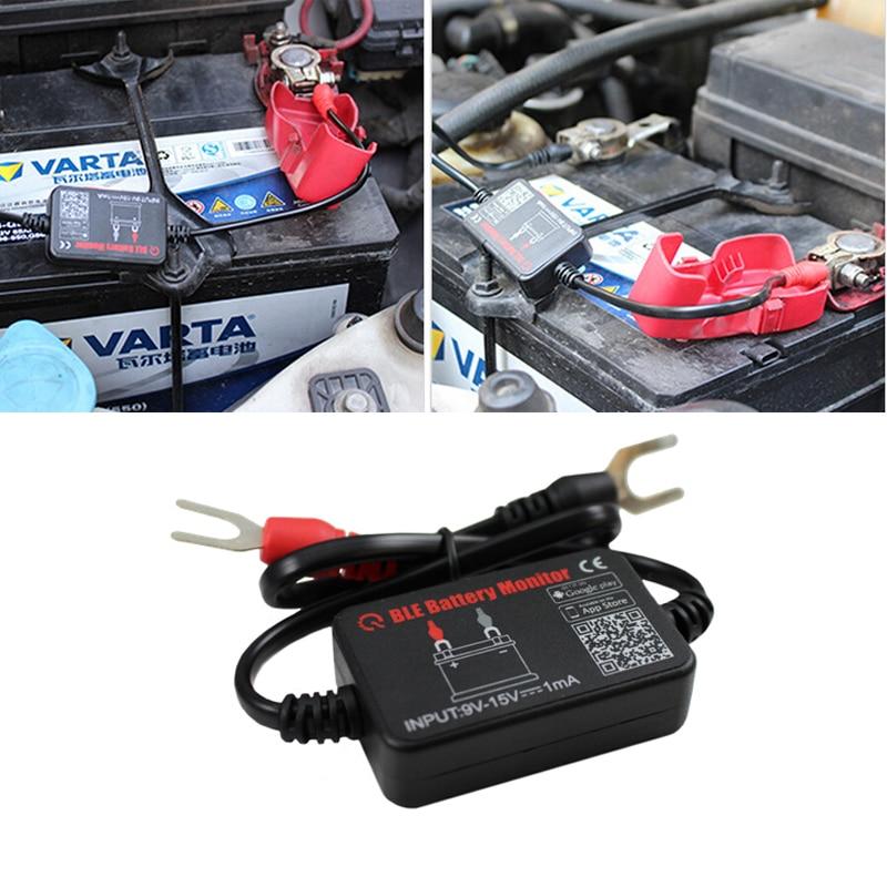 Auto Battery Monitor : Quicklynks car battery monitor bm bluetooth device